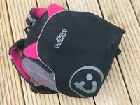 +++ TRUNKI BOOSTAPACK +++ child's travel booster car seat + backpack +++