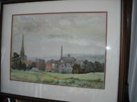 5 Watercolour paintings by Eveline Pitt 1950,s - 60,s