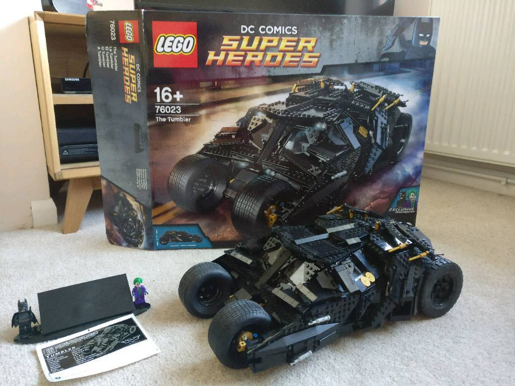 Lego Batman Tumbler 76023 Complete With Box And Instructions In