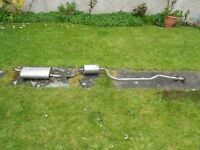 ford fiesta center exhaust pipe