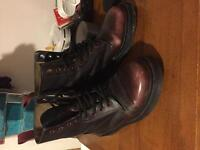 Dr Martens Pascal red 4 uk / 6 us / 37