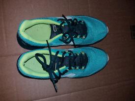 KALENJI RUN ACTIVE WOMEN'S RUNNING SHOES - GREEN size 40 - 6.5