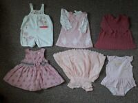 48pcs baby girl clothes 3-6 months
