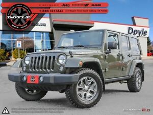 2015 Jeep WRANGLER UNLIMITED RUBICON W/NAVIGATION & DUAL-TOPS 4W