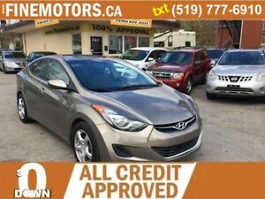 2013 Hyundai Elantra L/This price including 1 star powertrain dr