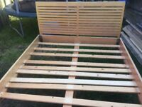 double bed-king size £50