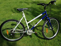 Mountain Bikes, two men's, one women's, fair condition, all 21 speed, will sell separately, £40 each