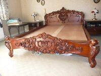 ROCOCO DOUBLE BED