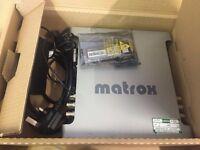 Matrox MX02 LE - Professional HDMI, SDI, and analog I/O for the Mac.
