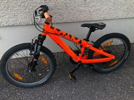 "Scott voltage 20"" kids bike"