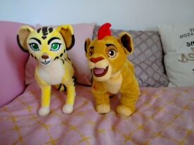 new disney store lion guard fuli & kion