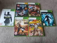 Xbox 360 Game Bundle - 6 games