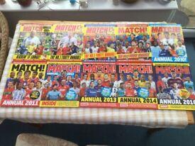 Match Football Annuals