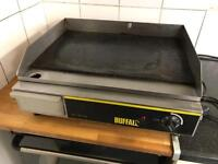 Buffalo electric griddle hot plate fryer