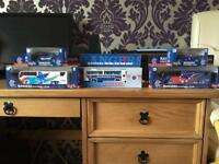 Glasgow Rangers model buses and cars