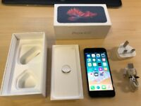 Apple iPhone 6S 64GB Unlocked mobile phone with accessories