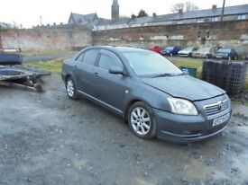 2006 toyota avensis 2.2 breaking for parts