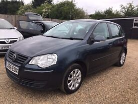 VOLKSWAGEN POLO 1.2 S Hatchback 5dr 2006 * IDEAL FIRST CAR * CHEAP INSURANCE * LOW MILEAGE