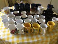 45 mugs various designs