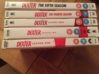Dexter Seasons 1-5 Excellent condition
