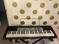 Keyboard with stand