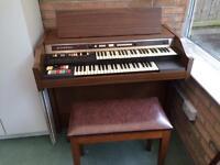Old Hammond Organ and Stool