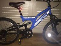 "Boys Trax 20"" bike"