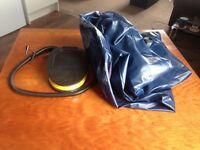 Inflatable mattress bed and pump (size double)