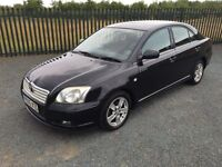 2005 05 TOYOTA AVENSIS 1.8 T3-X 5 DOOR HATCHBACK - *AUG 2017 M.O.T* - GOOD EXAMPLE!
