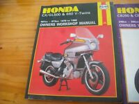 motorcycle haynes manual