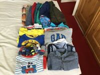 Boundle of Boys clothes size 18-24 months