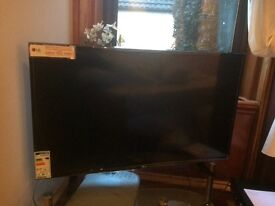 LG 43 INCH LED TV BRAND NEW NEVER SWITCHED ON ONE YEAR WARRANTY