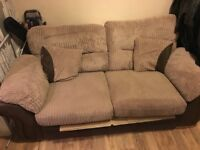 2 Seater Sofa (1 beam broken) Should be easy repair