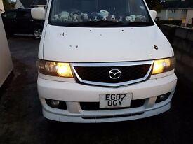 2002 Mazda Bongo 2.0 petrol 7 seater white