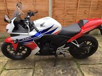 Honda CBR500 RA, FULL SERVICE HISTORY, 0 previous owners, excellent condition
