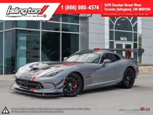 2016 Dodge Viper **IN STOCK**2016 VIPER ACR EXTREME**LOW KM'S