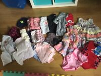 💗💜beautiful 9-12 month baby girl clothes bundle, including BNWT baby wetsuit swimsuit 💗💜