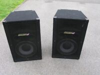 Carlsbro AT 10 PA Speakers