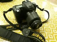 Nikon D50 Digital SLR Camera Kit Black includes AF-S Zoom Nikon 18-55mm Lens [6MP]