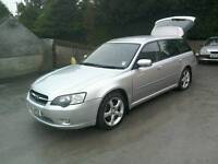 06 Subaru Legacy 2.0 Estate 5 door Full Mot 2018 ( can be viewed inside anytime)
