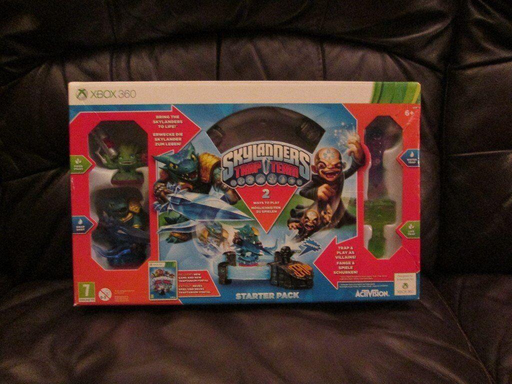 Skylanders Trap Team Starter Pack For Xbox 360