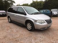 CHRYSLER GRAND VOYAGER EXECUTIVE CRD, AUTOMATIC,LIMITED EDITION, NEW MOT, 92K MILES