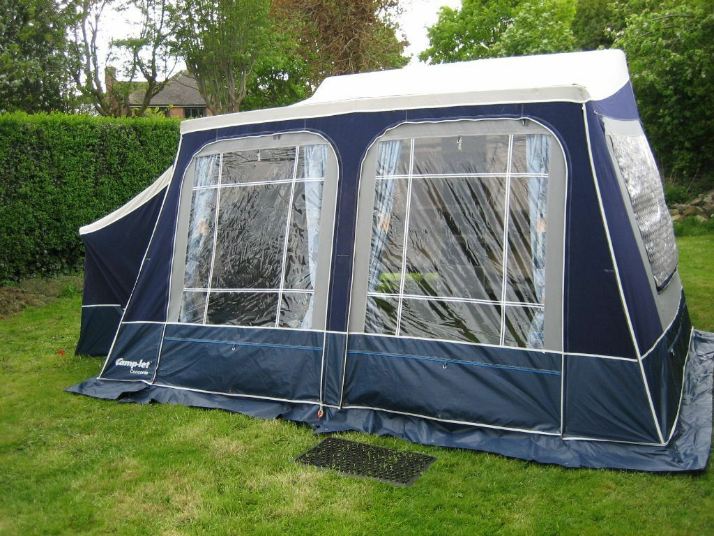 CAMPLET CAMP LET CONCORDE TRAILER TENT WITH ZIP ON ANNEX And