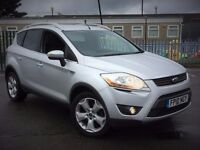 2010 FORD KUGA TDCI ZETEC DIESEL MANUAL EXCELLENT DRIVE NEW MOT FULL SERVICE NOT QASHQAI BMW X3 X5