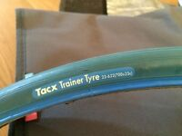 Tacx Cycling Tire, Wheel Block and Training Mat