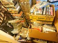 Hundreds of collectible vhs videos