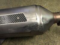 Gilera Vespa exhaust for 125 200