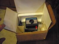 Vintage Polaroid Swinger 2 Camera All original paperwork and packaging