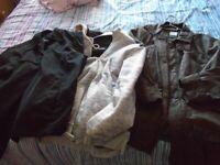 mens jackets /jumper xl