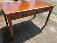 Vintage antique writing desk restoration project